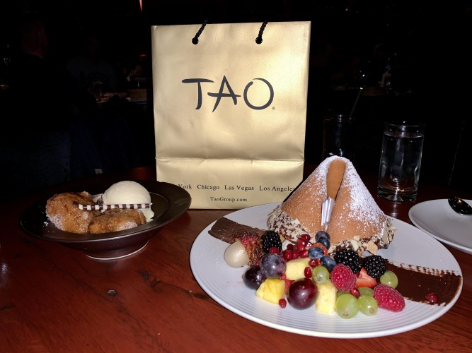 Fine Dining at Tao Downtown