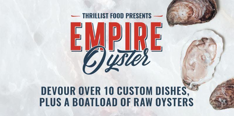 Thrillist's Empire Oyster 2016