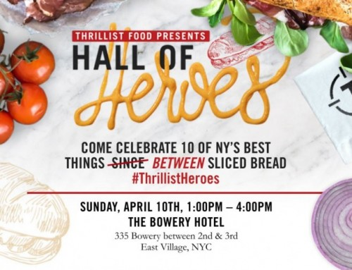 Thrillist's Hall of Heroes Sandwich Event
