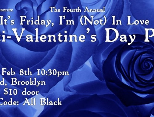 "the skint presents: ""It's Friday, I'm (Not) In Love"" Anti-Valentine's Party"