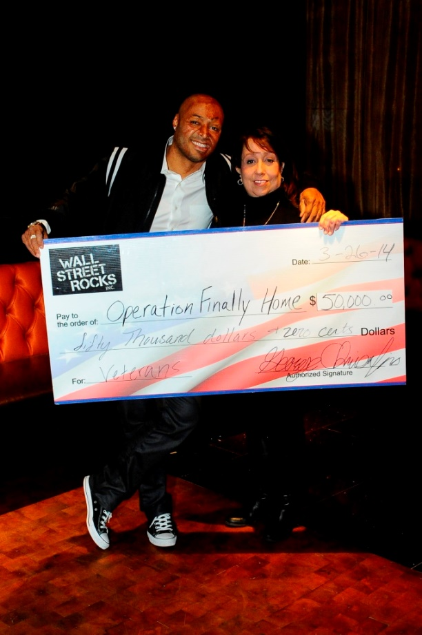 Wall street rocks for operation finally home socially for Operationfinallyhome org