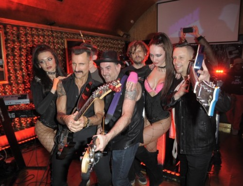 Music Video Release Party for Glam/Rock group D.O.G at Gold Bar