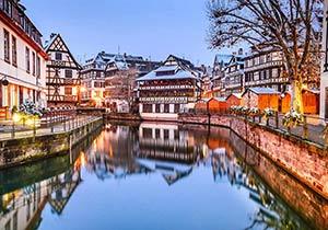 An Alsatian Winter