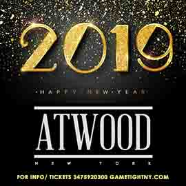 Atwood NYC New Years Eve 2019