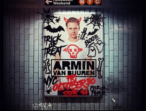 Armin van Buuren at Pier of Fear Halloween 2015