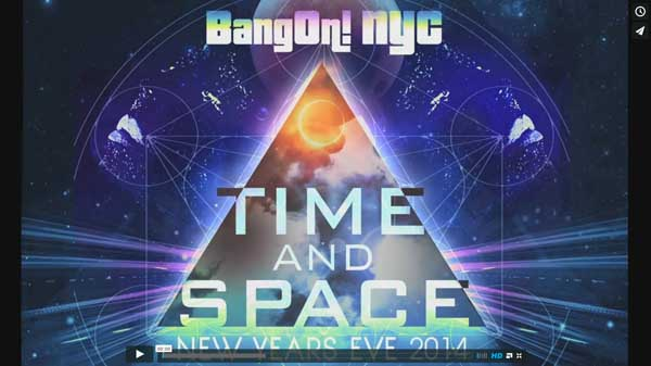 BangOn!NYC presents NYE 2015: Time & Space