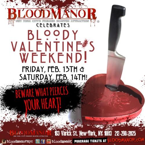 Blood Manor's Bloody Valentine's Weekend