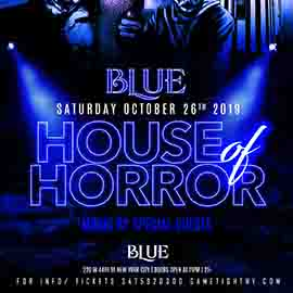 Blue Midtown NYC Halloween House of Horror party 2019