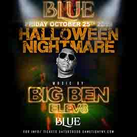 Blue Midtown NYC Hot 97 Halloween Nightmare Party