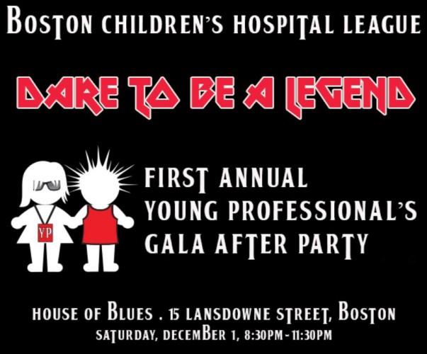 Dare To Be A Legend: Boston Children's Hospital League Gala