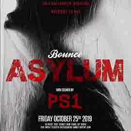 Bounce NYC Halloween PS1 Friday Asylum Party 2019
