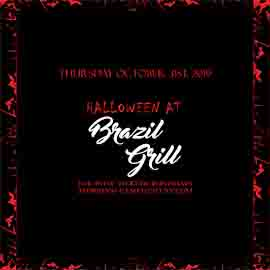 Brazil Grill NYC Halloween Party