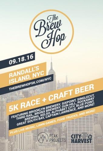 The Brew Hop: 5K + Craft Beer Festival