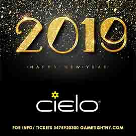 Cielo NYC New Years Eve 2019
