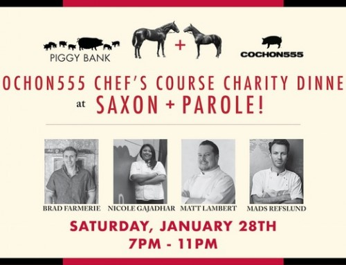 2017 Cochon555 Chef's Course Dinner Series