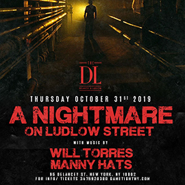 The DL Halloween Rooftop Party