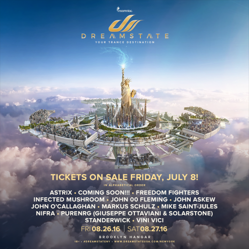 Dreamstate New York 2016