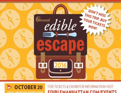 Edible Manhattan's 6th Annual Edible Escape