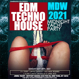 Memorial Day Weekend EDM Midnight Yacht Party Sunday Funday Cruise