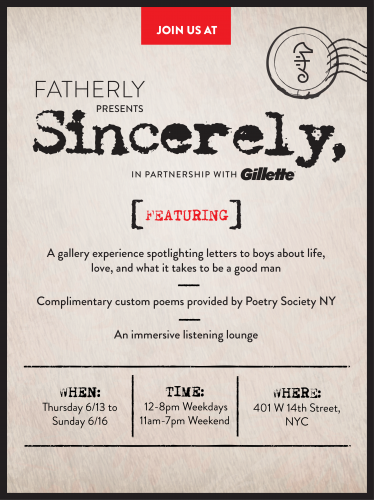 Fatherly Presents: Sincerely for Father's Day