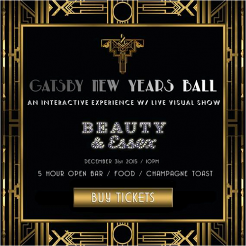 Beauty & Essex Gatsby New Year's Eve Ball