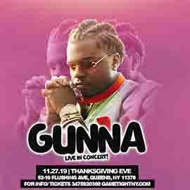 Gunna live at Knockdown Center Thanksgiving Eve 2019