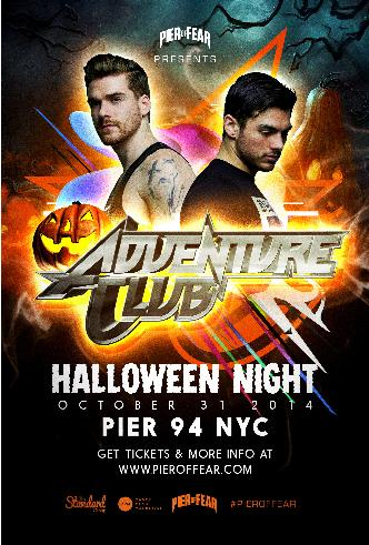 RPM Presents: Pier of Fear 2014 Halloween Night with Adventure Club