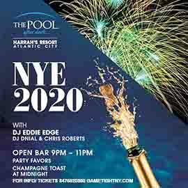 Harrahs Pool Party New Years Eve NYE 2020
