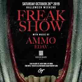 Highbar NYC Freak Show Halloween Party