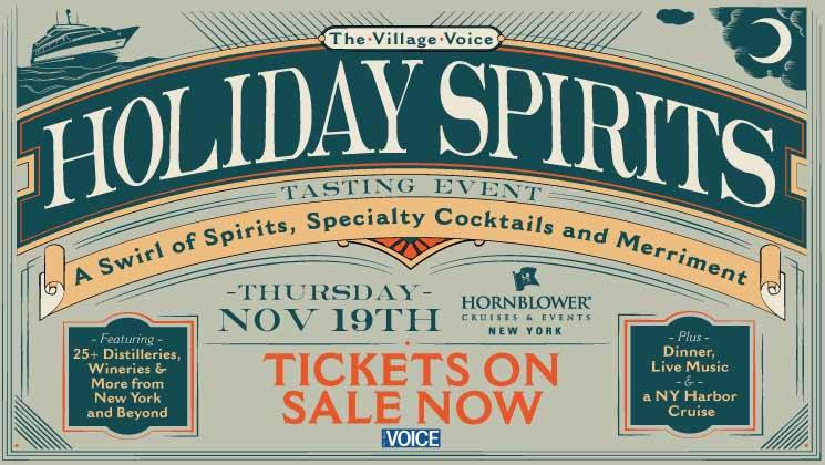 Village Voice's 3rd Annual Holiday Spirits Cocktail Cruise