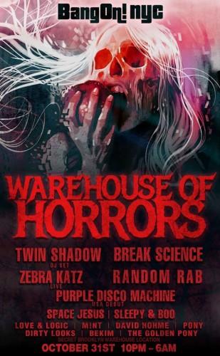 BangOn!NYC Presents: Warehouse of Horrors III