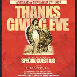 Hotel Chantelle Thanksgiving Eve Party
