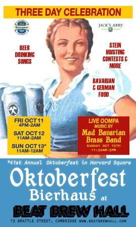 Oktoberfest Bierhaus at Beat Brew Hall