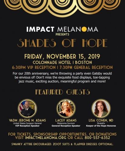 IMPACT Melanoma: 2019 Shades of Hope Gala