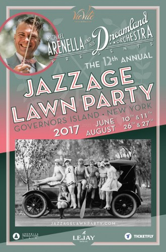 The 12th Annual Jazz Age Lawn Party on Govenors Island