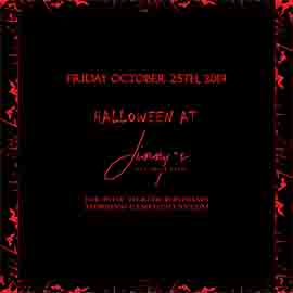 Jimmy's NYC Friday Halloween party 2019