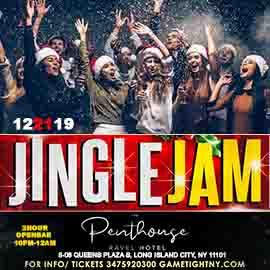 Ravel Penthouse 808 Jingle Jam Holiday Rooftop Openbar Party