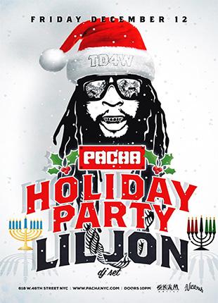 Lil Jon DJ Set at Pacha NYC
