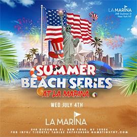 La Marina July 4th Weekend BBQ Beach Party 2018