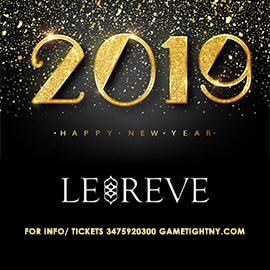 Le Reve NYC 5 Hours Openbar New Years Eve 2019