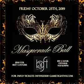 Loft 51 NYC Friday Halloween Masquerade Ball 18 to party 2019