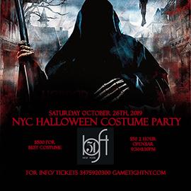 Loft 51 NYC Saturday Openbar Halloween Costume party 2019