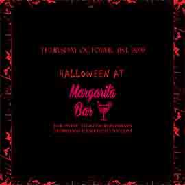 Margarita Bar NYC Halloween party 2019