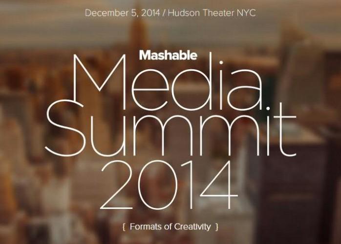Mashable Media Summit 2014