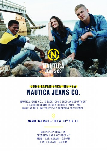 Nautica Jean Co. Pop-Up Shopping Experience