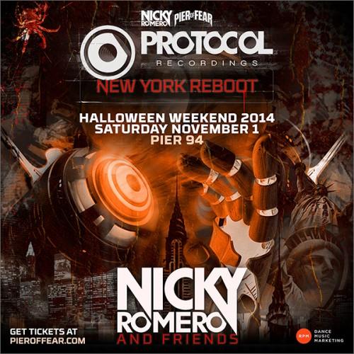 Pier of Fear 2014: Nicky Romero & Friends