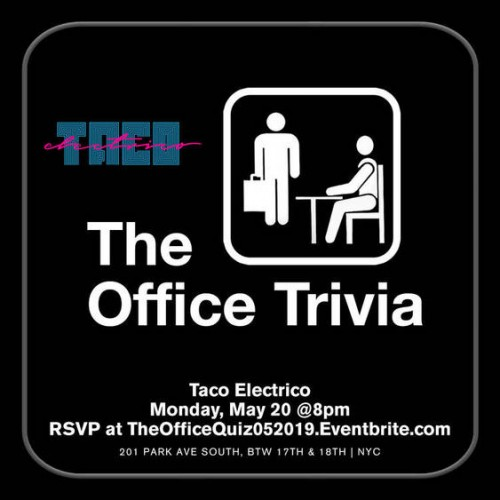 The Office Trivia at Taco Electrico