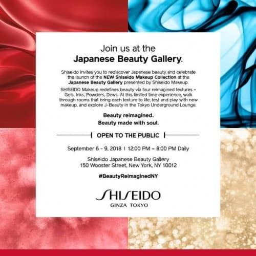 Japanese Beauty Gallery presented by Shiseido Makeup