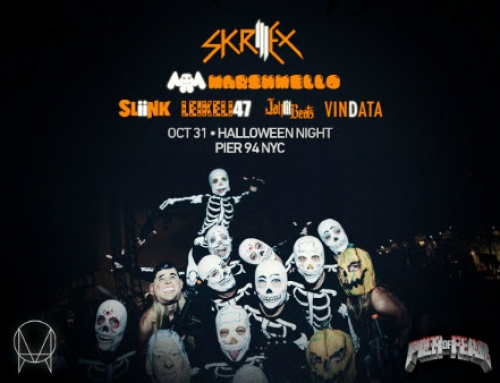 Pier of Fear Halloween 2015 with Skrillex