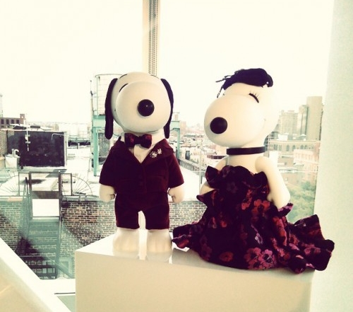 snoopy and belle in fashion